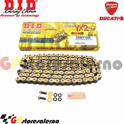 Catena Did 520 Vx2 G&B Ducati 696 Monster 696 2011