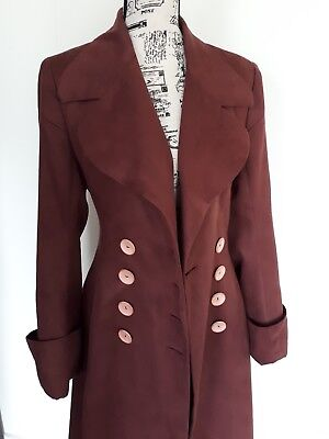 Pierrot Song women's vintage trench coat size 6-8