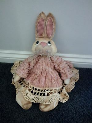 Easter Bunny Kit - Easter Bunny Pattern Instructions With Fabric