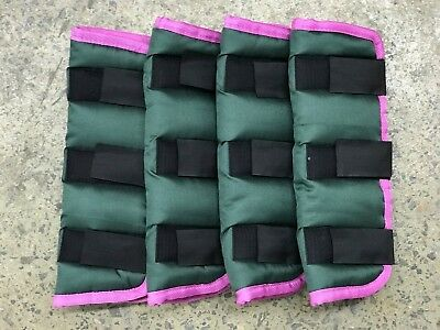 Axiom Green/pink Binding Floating Boots - Set Of Four
