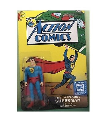 FUNKO Superman Classic ACTION COMICS 3 3/4 Action FIGURE DC LEGION REACTION