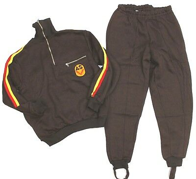 (Auc) Genuine Ddr Nva East German Army Tracksuit Training Suit Sk48
