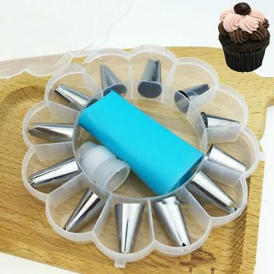 14-Piece Cake Decorating Kit Nozzle Baking Accessories DIY ND