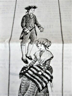 Original Mail Order Design 809 Crochet Colonial Costumes For 11 1/2 Inch Dolls