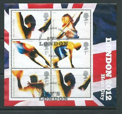 GB 2005 - London Host 2012 Olympics  - Mini Sheet - Very fine used