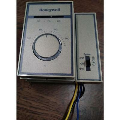 Honeywell T6169B4017 120-277V Non-Programmable Fan Coil Thermostat System 50-60