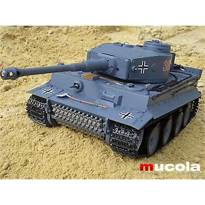 Panzer German Tiger RC 1:16 Kampfpanzer Heng Long 3818 Rauch Sound Schuss RTF