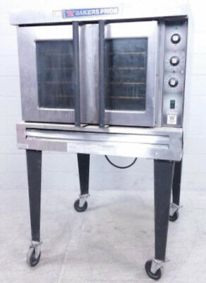 Bakers Pride Gas Convection Oven on Rolling Wheels