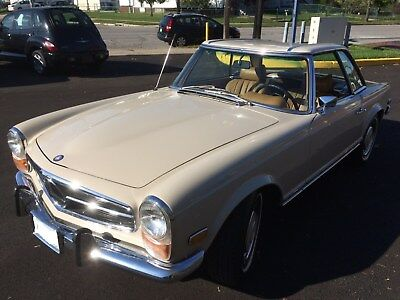 1970 Mercedes-Benz SL-Class  1970 Mercedes-Benz 280 SL 2.8L Convertible