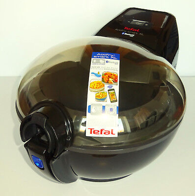 Tefal AH980840 ActiFry Smart XL Health Fryer, 1.7 Kg Capacity, Bluetooth Black.