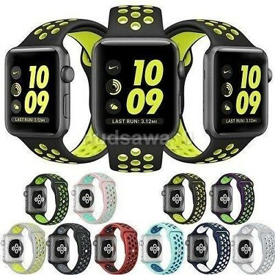 For Apple Watch Nike Sport Strap Band Strap (Series 1/2 & 3)