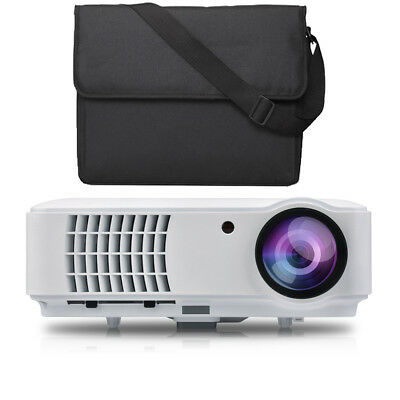LED Beamer Full HD 1920x1080 LCD Heimkino Video Projektor 1080 Projector Tv NEU