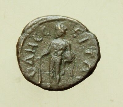Caracalla AE18mm Odessus Mysia Heracles Lion Skin Club