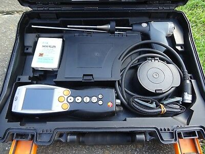 Testo 330-2 LL Pro Bluetooth Flue Gas Analysers In Very Good Condition
