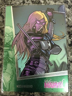 Women of Marvel 2 emerald foil parallel card #49 MOCKINGBIRD 098/100 Rittenhouse