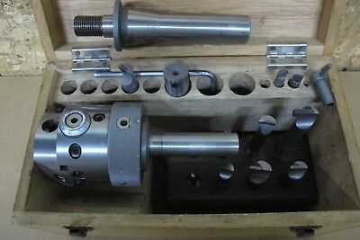 "ENCO BORING & FACING HEAD R8 & 3/4"" ARBOR       ""Made in France"""