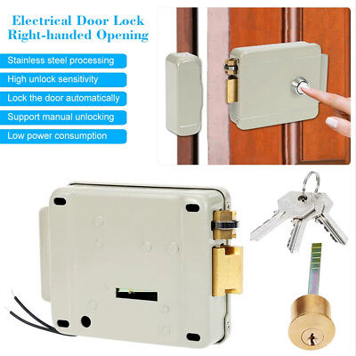 Electric Lock Video Doorbell Intercom Access Control home Security System + Key
