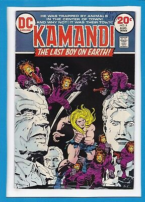 Kamandi The Last Boy On Earth #8_August 1973_Very Good_Bronze Age Dc!