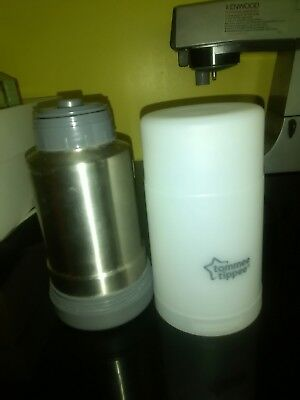 Tommee Tippee Travel Bottle Food Warmer Baby Flask Milk Thermos
