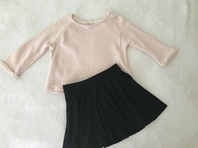 Forever 21/Justice Girls Skirt and Top  9/10