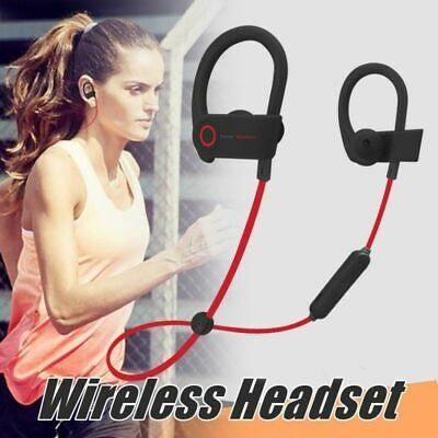 Bluetooth Wireless Earphones Sport Beats Style Headset for iPhone Samsung HTC