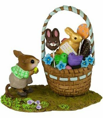 HIS EASTER GOODIE BASKET* Wee Forest Folk, WFF# M-523B