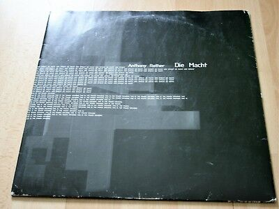 Anthony Rother - Die Macht + Darkness 2x12 Inch Vinyl Mikrolux Electro Techno