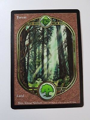 Forest - Unglued (Magic/mtg) Full Art Basic Land