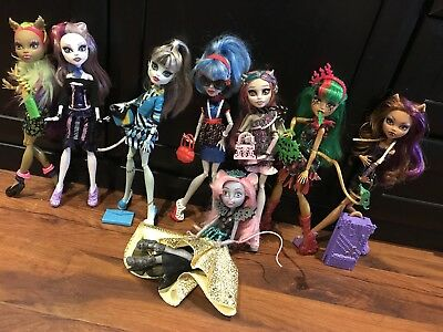 monster high doll Bundle, Fab Condition