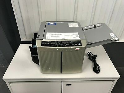MBM BC-12 Fully-Automatic 10-up Business Card Slitter / Cutter - Fully-Serviced