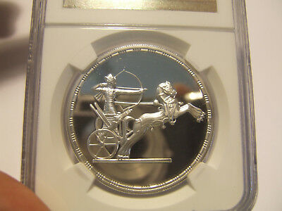 Very Rare 1994//ah1415 Archer & Chariot Silver 5 Pd Ngc Pf69Uc Top-Pop