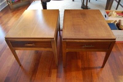 Mid Century Pair Lane Rhythm End Tables