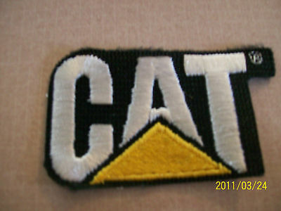 Caterpillar Embroidered Patch Vintage Truck Farming
