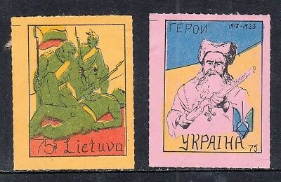 Stamps From Lithuania Local Post