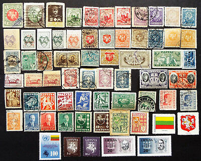 Stamps From Lithuania Old And New
