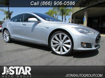 Tesla Model S  2015 Tesla Model S 85 silver low miles trades welcome financing available