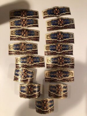 Over 430  Opus X Cigar Bands- Great Condition, Mostly Big Ring Gauges A Fuente