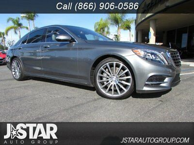 Mercedes-Benz S-Class  2017 Mercedes Benz S550 4Matic grey trades welcome financing available