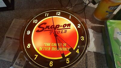 vintage snap on clock