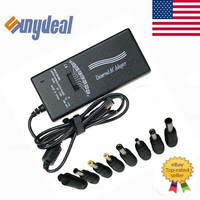 New 90W 8tip Laptop Universal AC Adapter Battery Charger Notebook Power Supply
