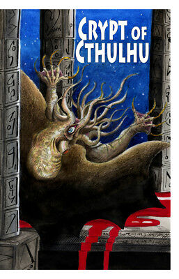 New! Crypt of Cthulhu #110, ed by Bob Price & published by Necronomicon Press!