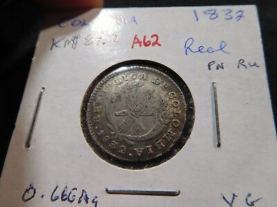A62 Colombia 1832 Real KM-87.2