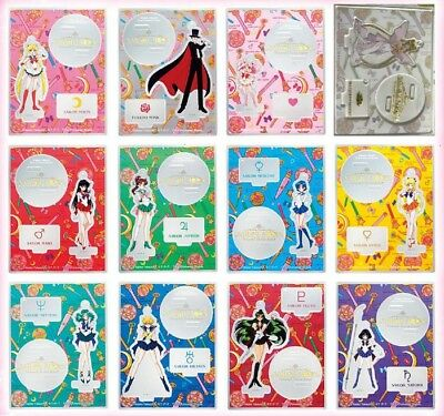 Sailor moon Collectible Acrylic Key Chain 12 full set Universal Studios Japan