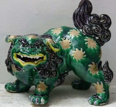 Very Beautiful Old Chinese Dog Of Foo - Mythical Beast - Dog Of Fu - Very Rare