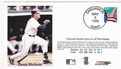 Colorado Rockies Score In All Nine Innings Chicago Ill May 5 1999
