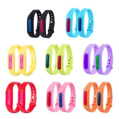 Silicone Anti Mosquito Pest Insect Bug Repellent Repeller Wrist Band Bracelet