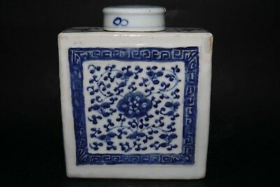 Very Interesting Early Chinese Tea Caddy - Unusual & Very Rare Example - L@@k