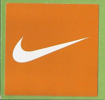 13 Small Nike Cardboard Signs 4 In Long X 4 In High 2499 Picclick