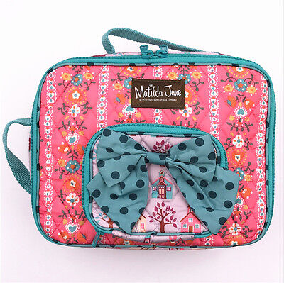 MATILDA JANE Lesson Plan LUNCH BOX School Houses Lunch Zipper Bag