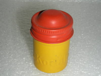 Film Holder 35Mm Kodak Can Vintage Canister Yellow-Red Geocaching